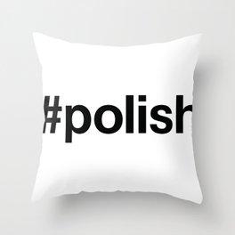 POLAND Throw Pillow