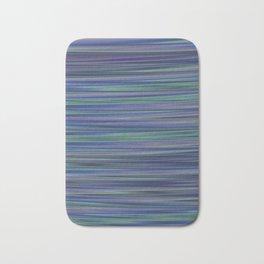 BECALM shades of blue purple green calm water abstract design Bath Mat