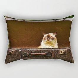 British shorthair cat Rectangular Pillow