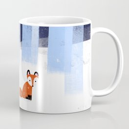 The Lonely Fox Coffee Mug