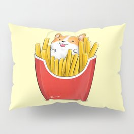 French Corgi Fries Pillow Sham