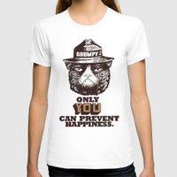 grumpy T-shirts featuring Grumpy PSA by Eric Fan
