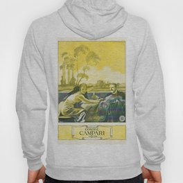 Vintage 1924 Campari Advertisement by Marcello Dudovich Hoody