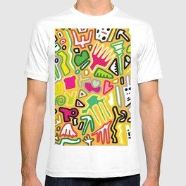 color doodle T-shirt