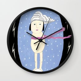 It's Cold Inside Wall Clock