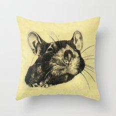 Rat 4 Throw Pillow