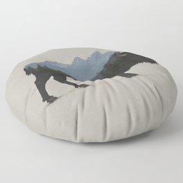 Grand Teton Bison Floor Pillow