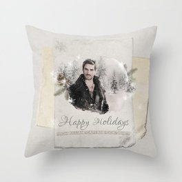 OUAT HAPPY HOLIDAYS // Captain Hook Throw Pillow