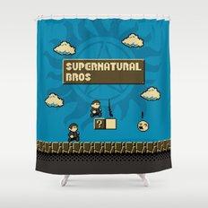 Supernatural Bros. Shower Curtain