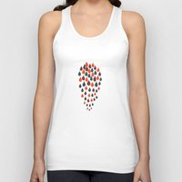 baloon Tank Tops featuring Baloon by kartalpaf