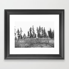 The Dancing Woods Framed Art Print