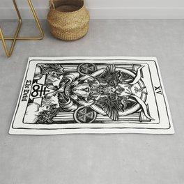 The Devil Tarot Rug
