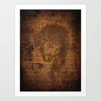 jesus Art Prints featuring  Jesus  by OnlineGifts