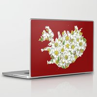 iceland Laptop & iPad Skins featuring Iceland by Ursula Rodgers