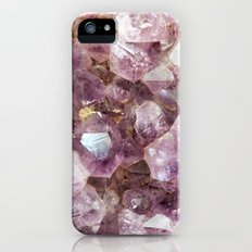 Amethyst and Gold iPhone (5, 5s) Slim Case