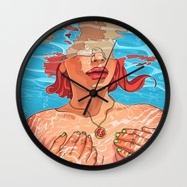 Do not leave me alone Wall Clock