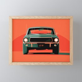 Bullitt Framed Mini Art Print