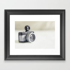 Camera toy Framed Art Print