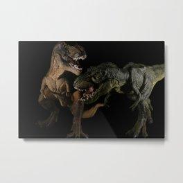 T-Rex 3 Metal Print