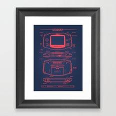 GB Advance Framed Art Print