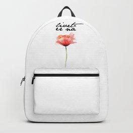livet er na Backpack