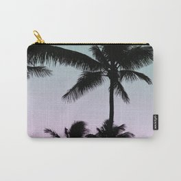 Silhouette Palms Carry-All Pouch