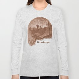 Lower Falls, Vintage Ticonderoga Long Sleeve T-shirt