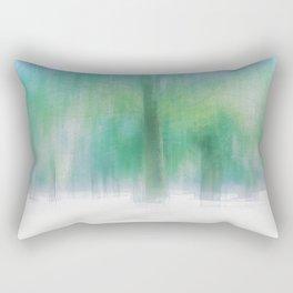 Aquamarine summer Rectangular Pillow