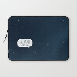 Star Stuff (Science Fiction Wrapping Paper No. 2) Laptop Sleeve