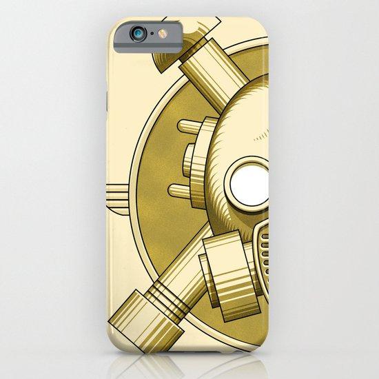 Art Deco Gasmask Crossbones iPhone & iPod Case