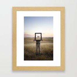 In My Mind Framed Art Print