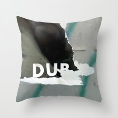 DUB Throw Pillow