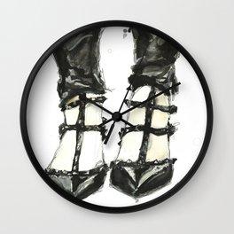 Valentino Rockstuds (Noir) Wall Clock