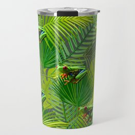 Frog Forest Travel Mug