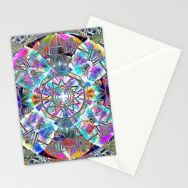 Kaleidoscope of The Four Directions Stationery Cards