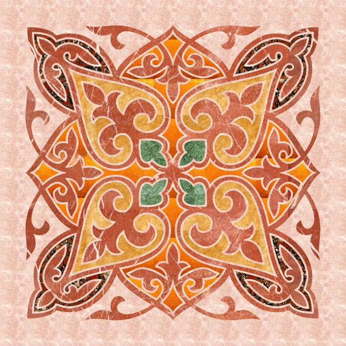 Brown Mandala 02 Comforters