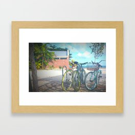 Keys West Cruisers Framed Art Print