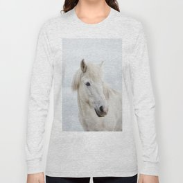 Icelandic Horse Long Sleeve T-shirt