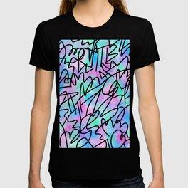 Watercolour Abstract Pastel Leotard T-shirt