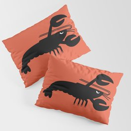 Angry Animals - Lobster Pillow Sham