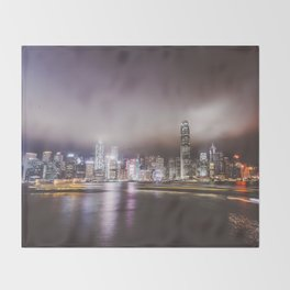 Night city 5 Throw Blanket