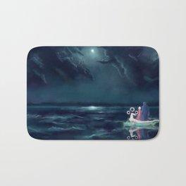Night III - Moonsail Bath Mat