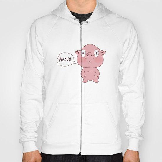 SOLD!! Confused Pig Hoody