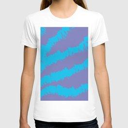 Blue-Purple Pattern T-shirt