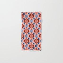Folk Pattern Hand & Bath Towel