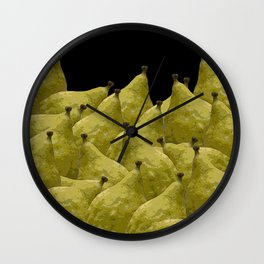 Etrogs Wall Clock