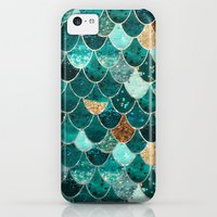 iPhone 5c Case featuring REALLY MERMAID by Monika Strigel
