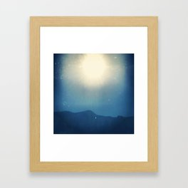 Glimpse of Summer  Framed Art Print