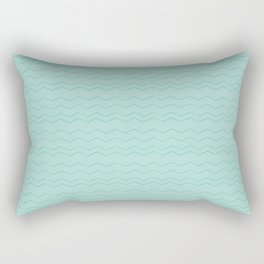 Blue on Blue Rectangular Pillow