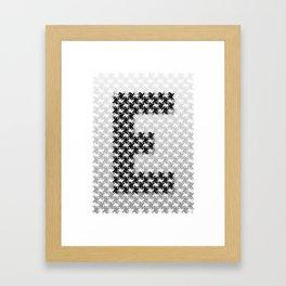 Escher mood Framed Art Print
